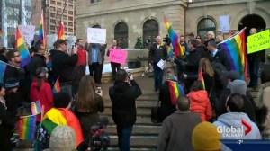 LBGTQ community rallies against Bill 10