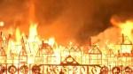 London replica burns on Great Fire anniversary