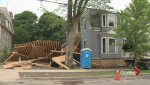 Building collapse cause under investigation