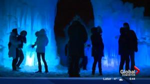 Ice Castles owner talks about Hawrelak Park attraction
