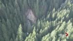 North Vancouver rockslide blocks Seymour River