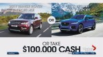 Foothills Hospital Home Lottery: Range Rover or Jaguar