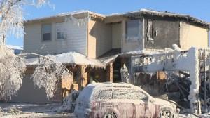 Fire destroys St. Norbert home