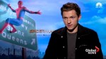 Tom Holland, Marvel's newest Spider-Man, talk about taking on the iconic role for 'Homecoming'