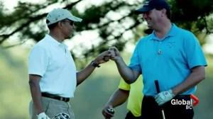 Obama's BC golf partner