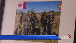 Canadian soldier starts custom-clothing company before retiring from military