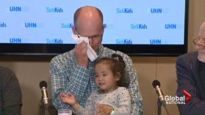 Happy ending for twins in need of liver transplants