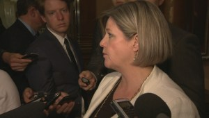 Andrea Horwath calls back-to-work unanimous consent motion 'undemocratic'