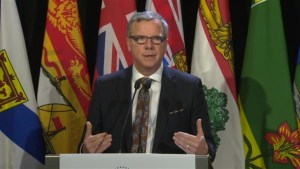 Saskatchewan Premier Brad Wall will not sign any deal on national carbon tax