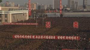 Mass rally held in North Korea in support of nuclear test