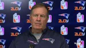 """We're not talking about it:"" Bill Belichick on Tom Brady's suspension"