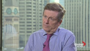 Mayor John Tory on: What's he's learned