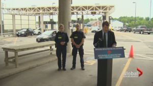 Harper Government unveils upgrades to border crossings