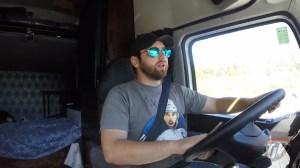 Trucker Josh stops by Global News Morning