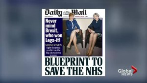Daily Mail 'Legs-It' front page hits below the belt