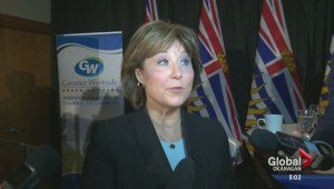 B.C. Premier defends high-priced and exclusive fundraising dinner in the Okanagan.