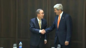 Kerry arrives in Tel Aviv to try and broker ceasefire