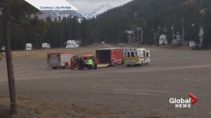 Hiker airlifted to hospital after 150-foot fall, weather forces stay in 'survival tent'