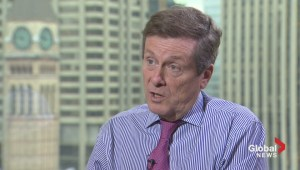Mayor John Tory on: How to deliver results