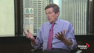 Mayor John Tory on: What the city will look like a year from now