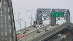 Major construction work coming to Mercier Bridge