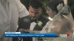 Ajax couple awaiting wedding photos, video 2 years later