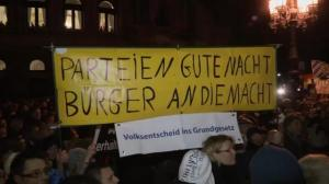 Raw video: Thousands rally for anti-Muslim protest in Germany