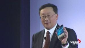 BlackBerry unveils Passport smartphone