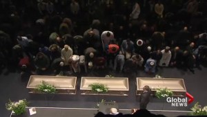 Quebec City funeral for mosque victims