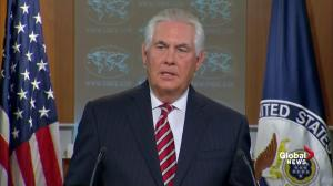 Tillerson says there's an 'erosion of trust' between Pakistan and U.S.