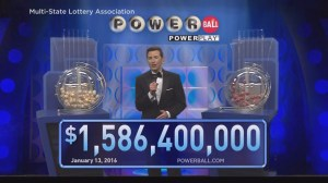 Powerball Draw: Wednesday January 13, 2016