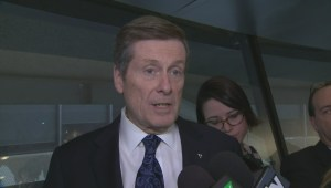 John Tory hopes support for SmartTrack will grow