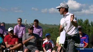 Mike Weir Charity Golf Tournament in full swing