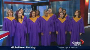 Montreal's People's gospel choir