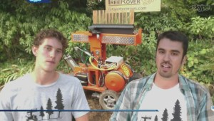 UVic students create tree-planting robot