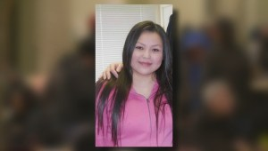 Calgary woman found beaten outside bank