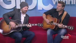 Doc Walker performs in studio on Global News Morning