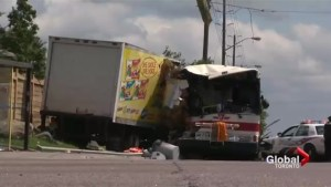 Sentencing underway for truck driver that crashed into TTC bus