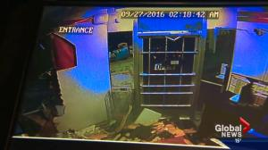 Heavy equipment used in brazen ATM robbery