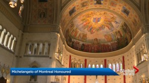 Michelangelo of Montreal honoured
