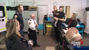Paramedic unexpectedly delivers his own baby