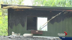 Salmon Arm house extensively damaged in late night fire