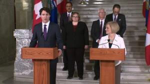 Justin Trudeau says improving Employment Insurance a priority