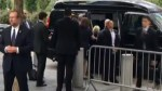 Twitter video shows Hillary Clinton leaving 9/11 ceremony after becoming 'overheated'
