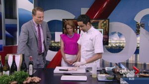 Saturday Chefs: Brick Chicken with Salsa Verde