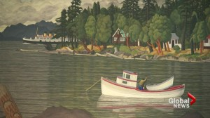 Large EJ Hughes art collection donated to Whistler museum