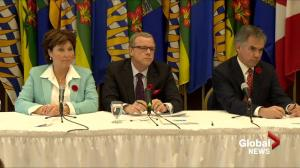 Premier Wall says livestock industry is strong