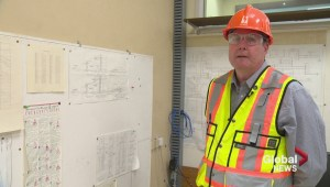 A look inside Coteau Creek Hydroelectric Station