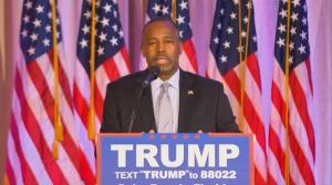 Donald Trump taps former rival Ben Carson to head up HUD