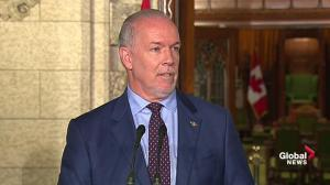 B.C. premier to take up pipeline fight with Ottawa another day
